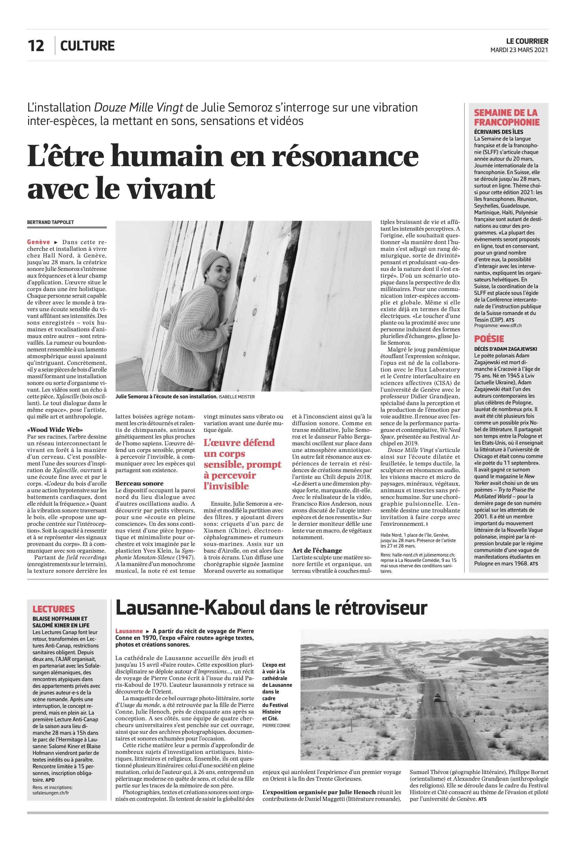 LeCourrier_L'être humain en résonance avec le vivant